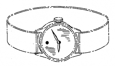 Nathan Horwitt watch design patent