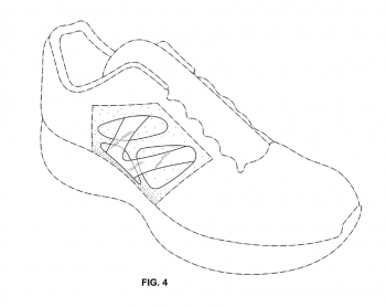 Figure 4 of Nike Design Patent No. D649759