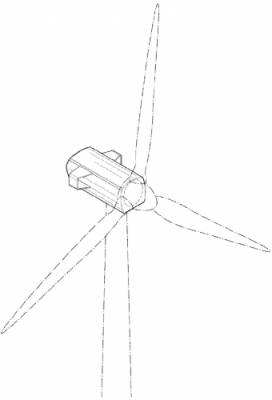 Vesta Wind Systems Design Patent D698726